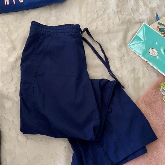 Navy scrub pants